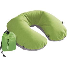 Cocoon Air Core Cuscino per il collo a U ultralight, verde/grigio